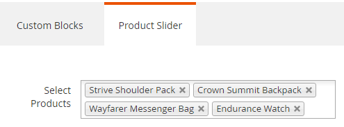 Snippet1: Product Slider