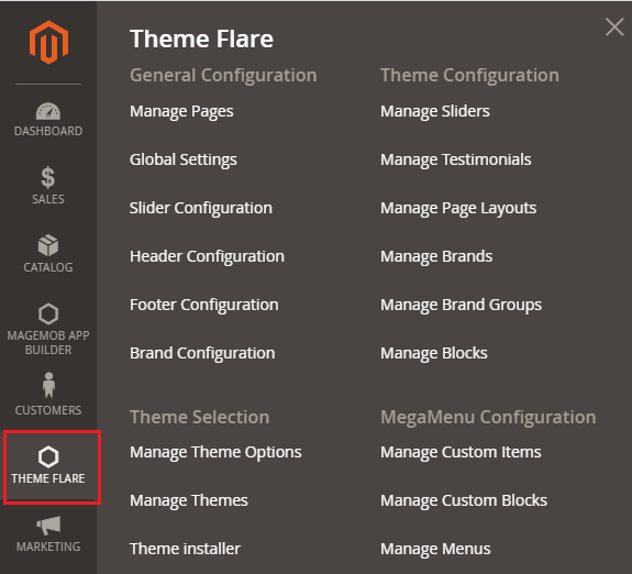 Theme Flare Web To Print store