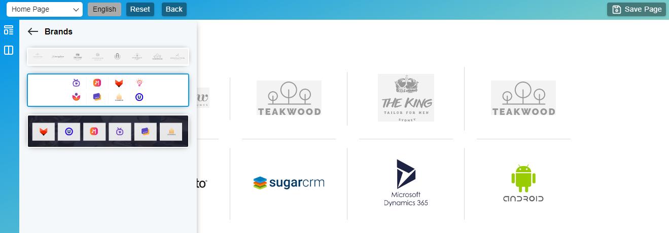 Brands block