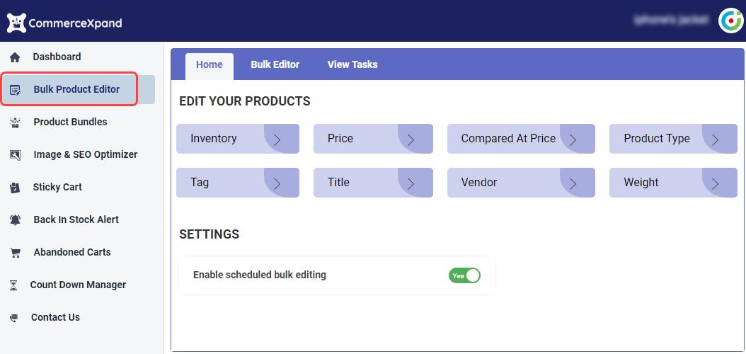 Bulk Product Editor