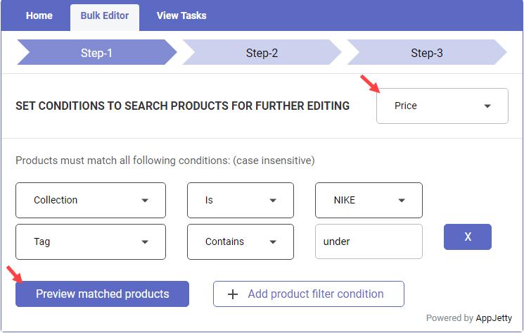 Shopify Bulk Product Editor