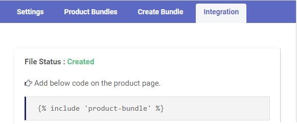 Product Bundle Integrations