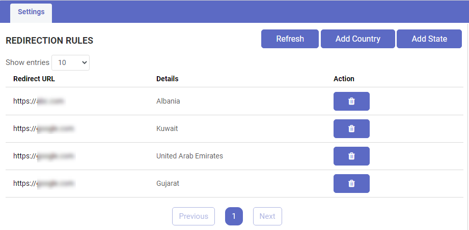 Shopify GeoIP Content Security App
