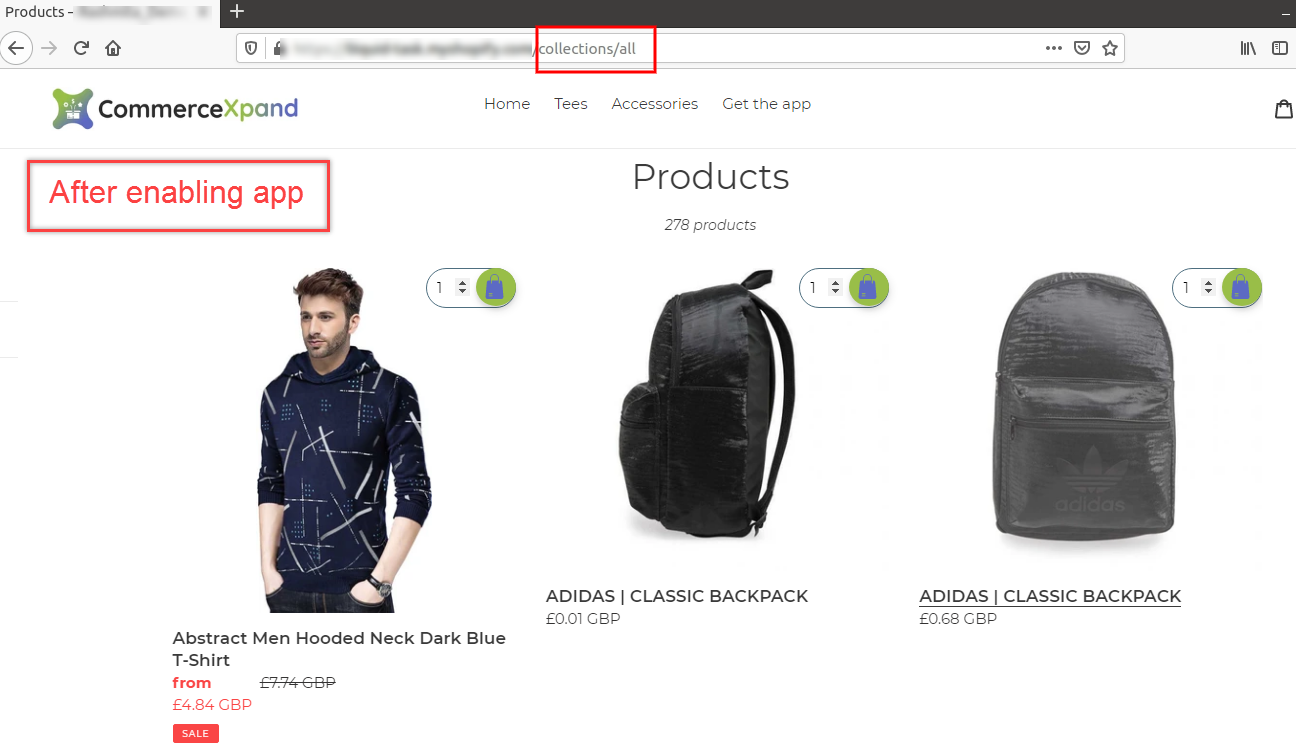 Shopify app to hide and protect the best seller products from competitive search